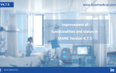 Improvement of the functionalities and status in DIANE