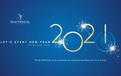 BOW MEDICAL vous souhaite de très bonnes fêtes de fin d'année