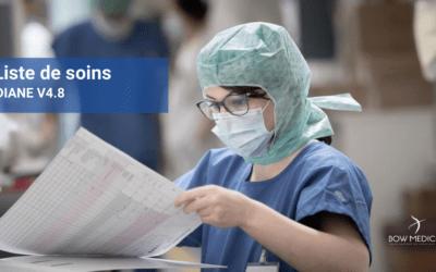 La liste des soins